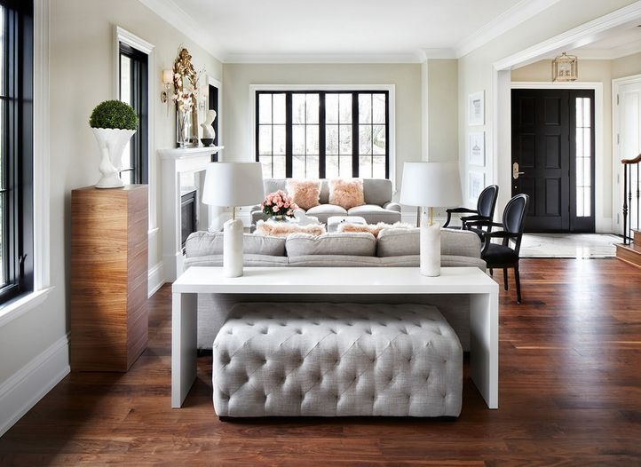 Best 25 Table Behind Couch Ideas On Pinterest Behind Sofa Table Perfectly Intended For Sofa Table With Chairs (View 6 of 20)