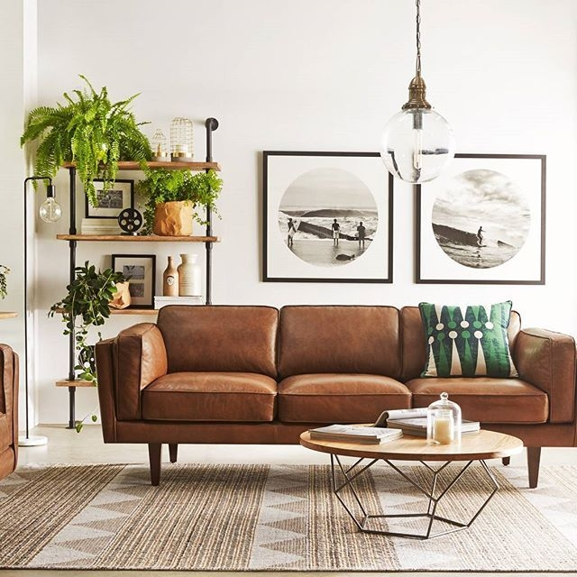 Best 25 Tan Leather Sofas Ideas On Pinterest Tan Leather certainly intended for Light Tan Leather Sofas (Image 1 of 20)