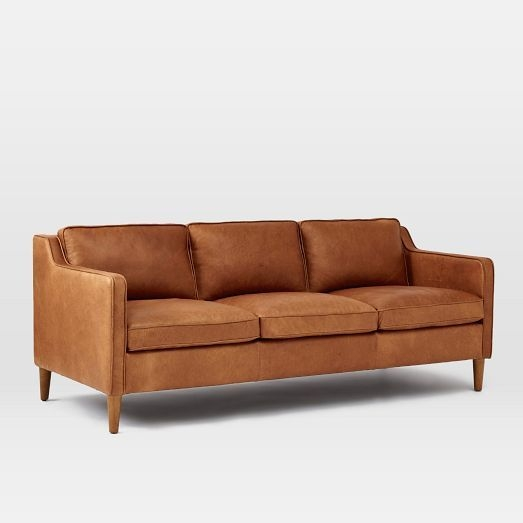 Best 25 Tan Leather Sofas Ideas On Pinterest Tan Leather perfectly within Light Tan Leather Sofas (Image 4 of 20)
