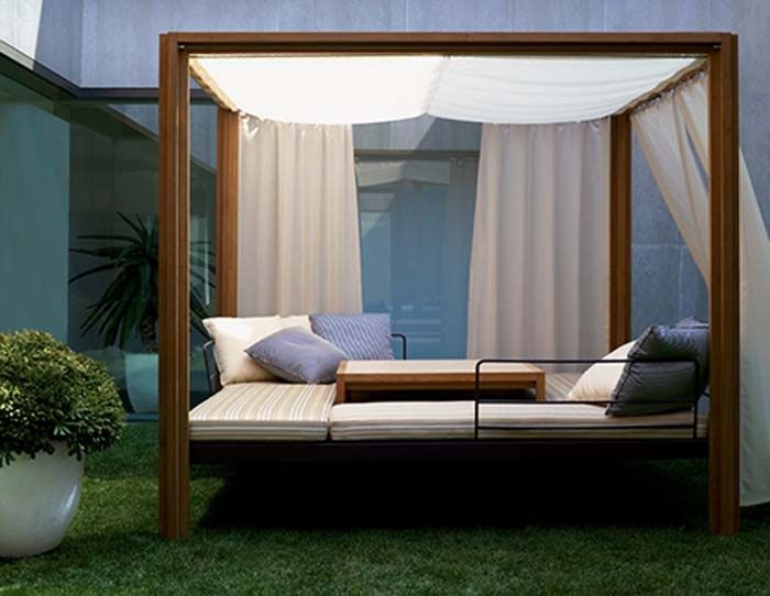 Best 25 Teak Outdoor Furniture Ideas On Pinterest Furniture very well regarding Outdoor Sofas With Canopy (Image 7 of 20)
