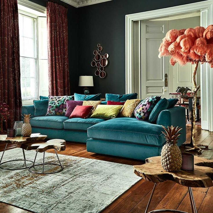 Best 25 Teal Sofa Ideas On Pinterest Teal Sofa Inspiration certainly for Colorful Sofas and Chairs (Image 13 of 20)
