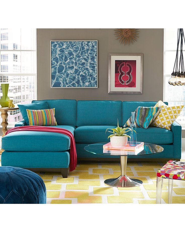 Best 25 Teal Sofa Ideas On Pinterest Teal Sofa Inspiration very well within Colorful Sofas and Chairs (Image 14 of 20)