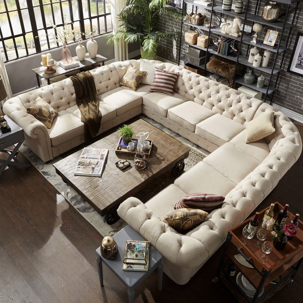 Best 25 U Shaped Sectional Ideas On Pinterest U Shaped clearly within 10 Foot Sectional Sofa (Image 10 of 20)