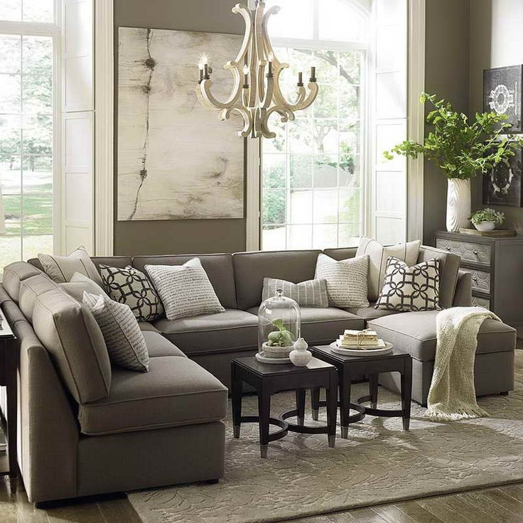 Best 25 U Shaped Sectional Ideas On Pinterest U Shaped most certainly pertaining to Coffee Table For Sectional Sofa (Image 6 of 20)