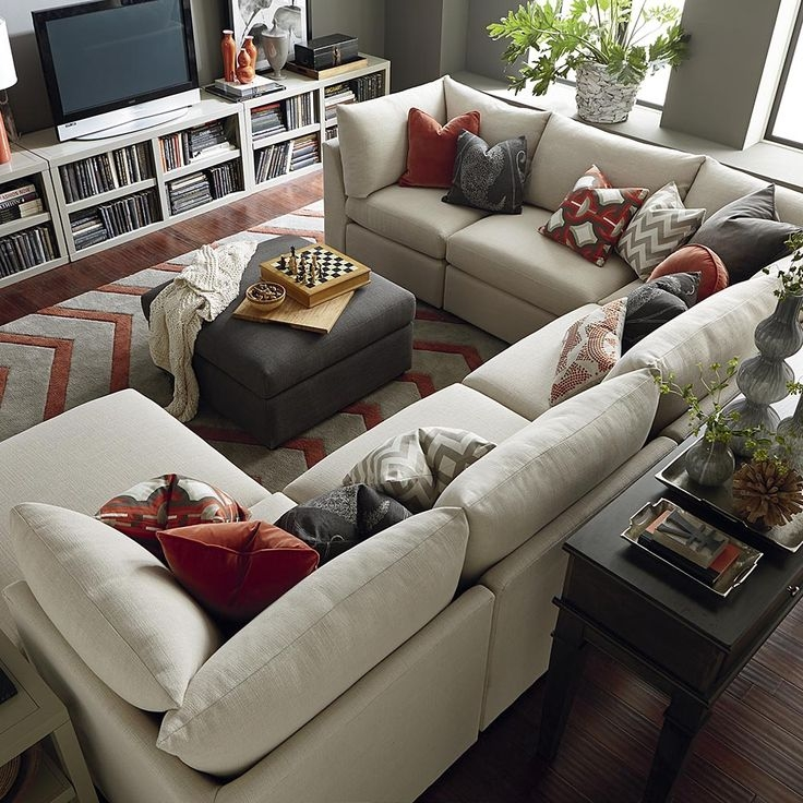 Best 25 U Shaped Sectional Sofa Ideas On Pinterest U Shaped Clearly With Regard To C Shaped Sectional Sofa (View 3 of 20)