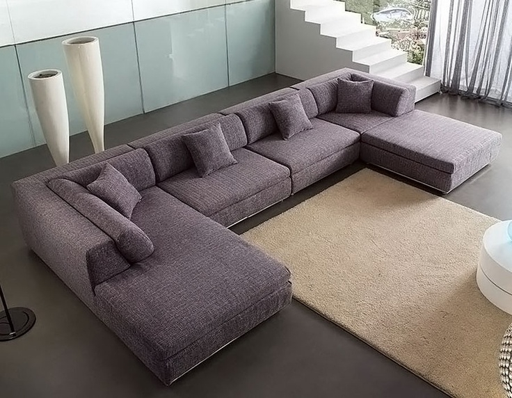 Best 25 U Shaped Sectional Sofa Ideas On Pinterest U Shaped Properly With C Shaped Sectional Sofa (View 4 of 20)