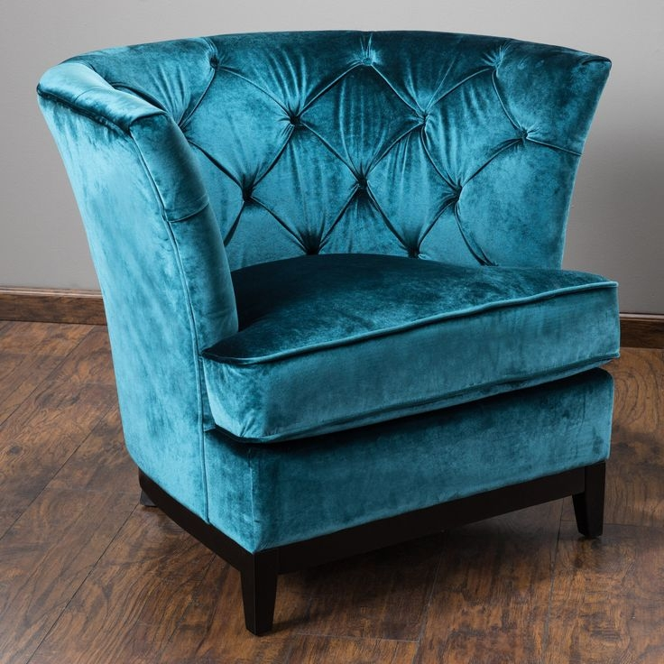 Best 25 Velvet Tufted Sofa Ideas On Pinterest Velvet clearly for Chair Sofas (Image 5 of 20)