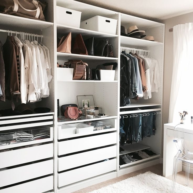 Best 25 Walk In Closet Ikea Ideas On Pinterest Ikea Pax Ikea good with Double Rail Wardrobes Ikea (Image 25 of 30)