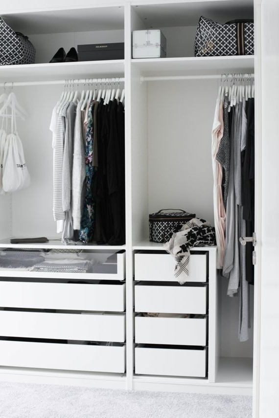Best 25 Wardrobe Storage Ideas On Pinterest Ikea Walk In very well in Drawers and Shelves for Wardrobes (Image 3 of 30)