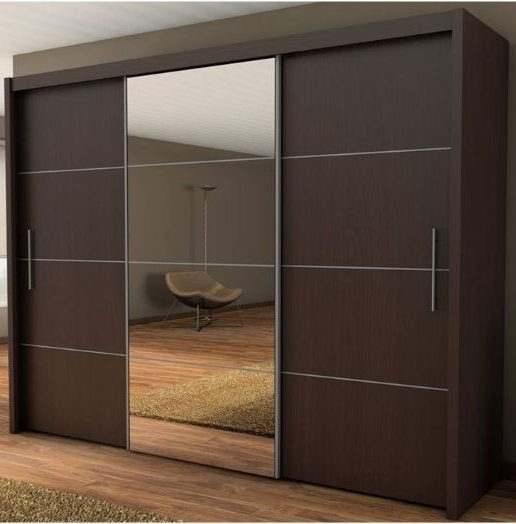 Best 25 Wardrobe With Mirror Ideas On Pinterest Sliding Mirror properly regarding 3 Door Wardrobe With Drawers And Shelves (Image 17 of 30)