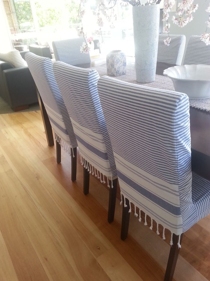 Best 25 White Chair Covers Ideas Only On Pinterest Wedding Properly Pertaining To Covers For Sofas And Chairs (View 13 of 20)