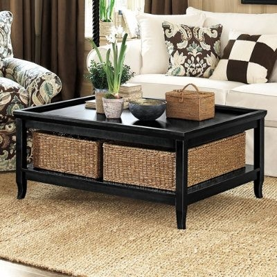 Best 25 Wicker Coffee Table Ideas On Pinterest Couch Ottoman Effectively Within Coffee Table With Wicker Basket Storage (View 10 of 20)