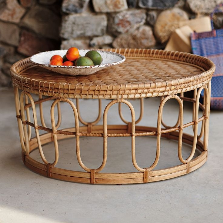 Best 25 Wicker Coffee Table Ideas On Pinterest Couch Ottoman Most Certainly For Coffee Table With Wicker Basket Storage (View 11 of 20)