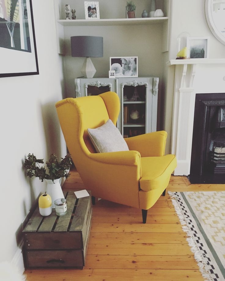 Best 25 Yellow Armchair Ideas On Pinterest Yellow Sofa Design nicely in Yellow Sofa Chairs (Image 3 of 20)