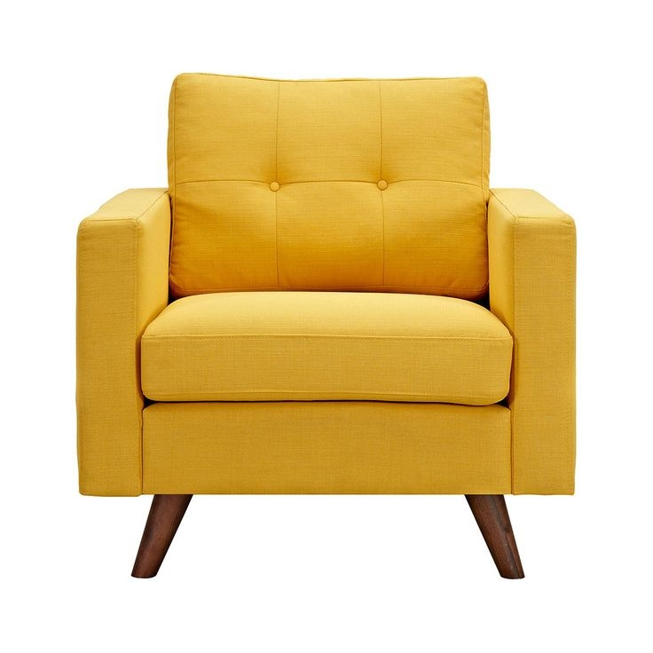 Best 25 Yellow Armchair Ideas On Pinterest Yellow Sofa Design perfectly with Yellow Sofa Chairs (Image 4 of 20)