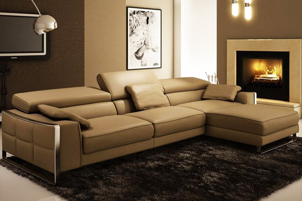 Best Contemporary Leather Sectionals Httpzoeroadbest very well pertaining to Sofas and Sectionals (Image 3 of 20)