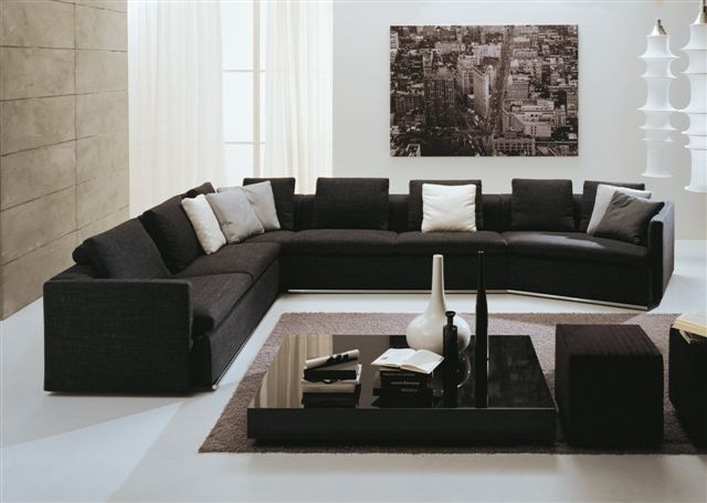 Best Furniture For Large People And Sofa Modern Sofasmodern certainly intended for Modern Sofas Sectionals (Image 6 of 20)