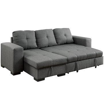 Best Sectional Sofas For Small Spaces Overstock perfectly throughout Compact Sectional Sofas (Image 2 of 20)
