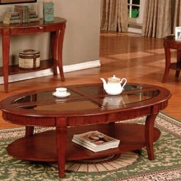 Best Wood Coffee Table Set Products On Wanelo perfectly regarding Cherry Wood Coffee Table Sets (Image 3 of 20)