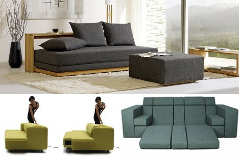 Beyond Sofa Beds 7 Creative New Kinds Of Sleeper Couch Urbanist most certainly within Sofas With Beds (Image 7 of 20)