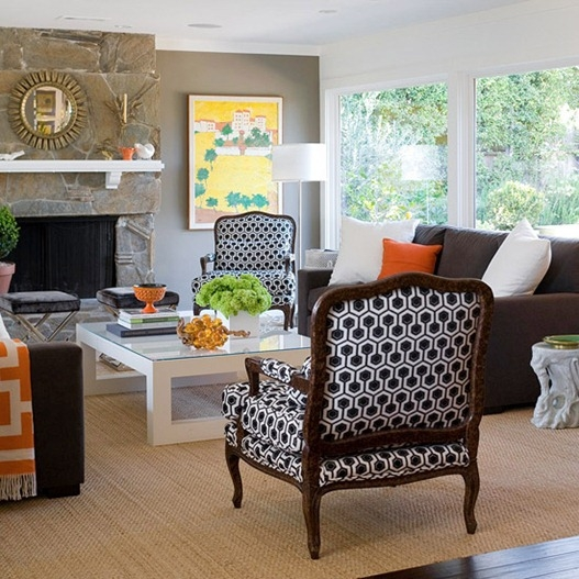 Bhg Centsational Style clearly with regard to Accent Sofa Chairs (Image 4 of 20)