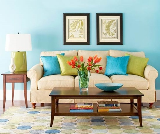 Bhg Centsational Style effectively regarding Colorful Sofas and Chairs (Image 15 of 20)