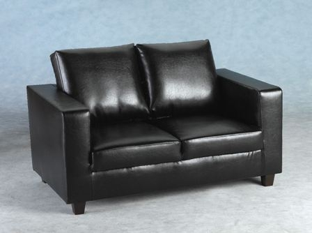 Black 2 Seater Sofas From Only 149 Upto Half Off A Black 2 definitely for Black 2 Seater Sofas (Image 8 of 20)