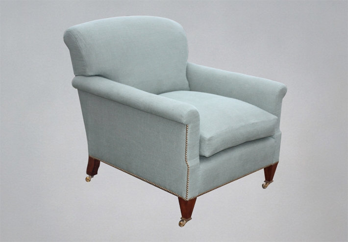 Black Barn Sofas Bespoke And Howard Style Sofas And Chairs properly inside Small Armchairs (Image 11 of 20)