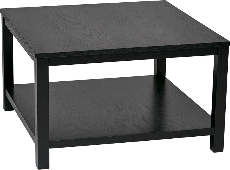 Black Square Coffee Table properly with Square Black Coffee Tables (Image 6 of 20)
