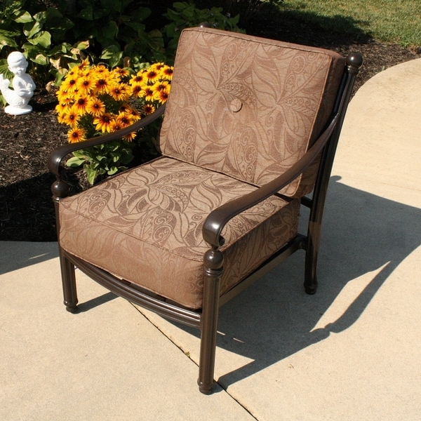 Blogs Aluminum Patio Furniture Care nicely intended for Outdoor Sofa Chairs (Image 8 of 20)
