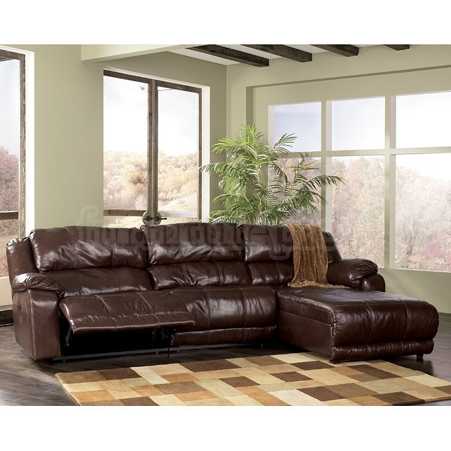 Braxton Java Right Facing Chaise 3 Piece Sectional Signature definitely regarding Braxton Sectional Sofa (Image 4 of 20)