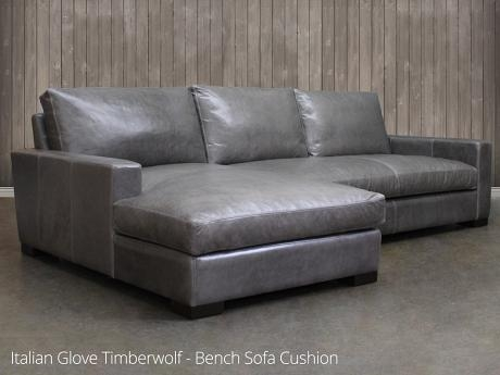 Braxton Leather Sofa Chaise Sectional Leather clearly for Braxton Sectional Sofa (Image 8 of 20)