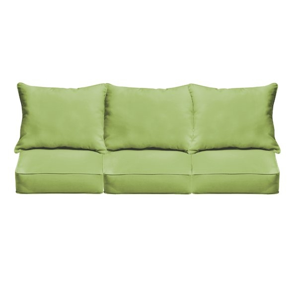 Brayden Studio Outdoor Sofa Cushions Reviews Wayfair certainly within Sofa Cushions (Image 3 of 20)