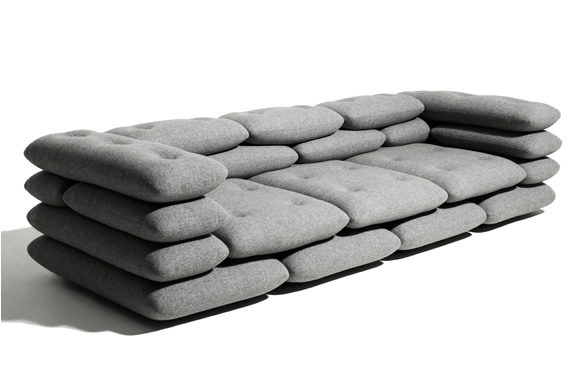 Brick Sofa Kibisi definitely inside Brick Sofas (Image 3 of 20)