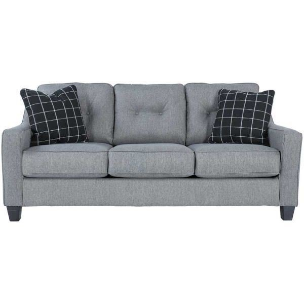 Brindon Charcoal Sofa Pp 539s Ashley Furniture 5390138 Afw nicely with Ashley Tufted Sofa (Image 7 of 20)