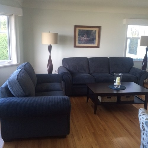 Bring Together Greyblue Sofa And Accent Chairs good inside Blue Sofa Chairs (Image 11 of 20)