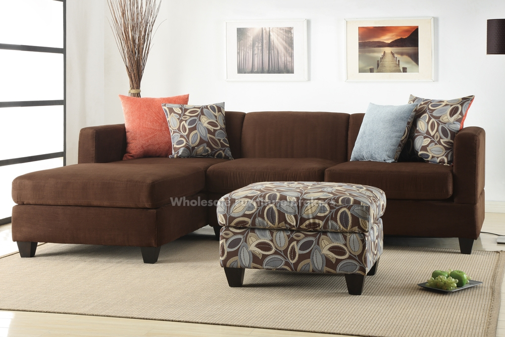 Brooks Chocolate Sectional Sofa Set S3net Sectional Sofas Sale very well regarding Chocolate Brown Sectional Sofa (Image 9 of 20)