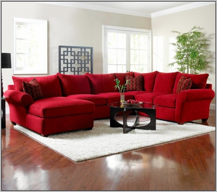 Brown Sectional Sofa Sleeper Modular Sectional Sofa Pieces 64 For well for Red Sectional Sleeper Sofas (Image 3 of 20)