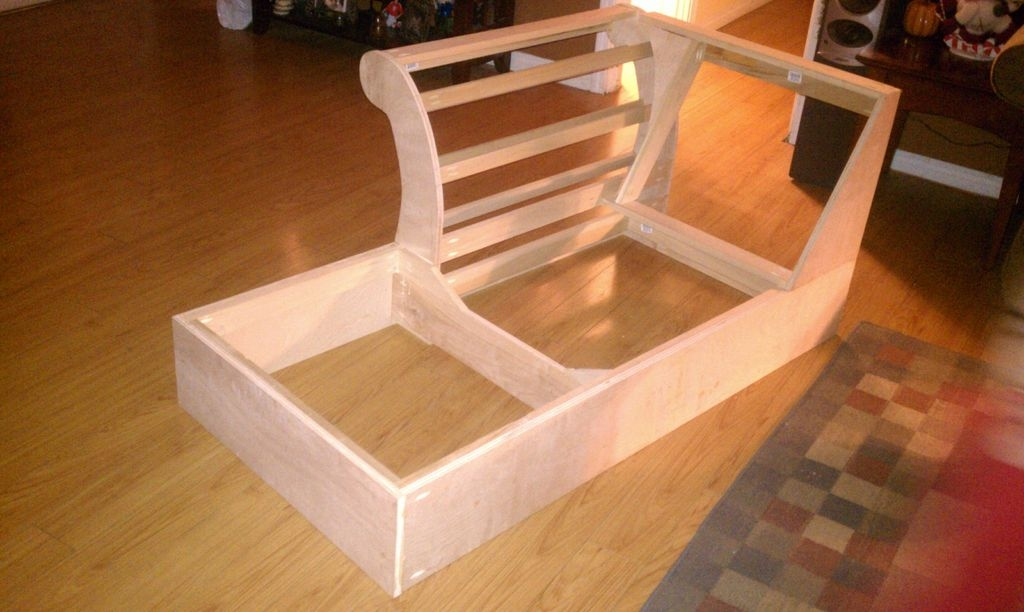 Build A Chaise Frame From Scratch 5 Steps With Pictures Nicely Inside Diy Sofa Frame (View 5 of 20)