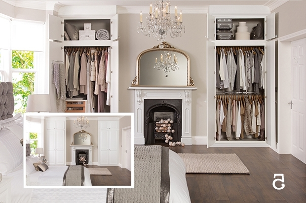Featured Photo of Alcove Wardrobes Designs