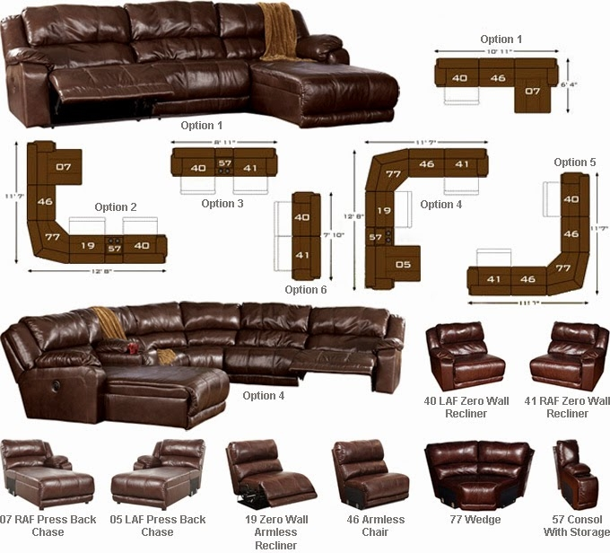 Buy Online Direct Braxton Java Sectional Review Ashley Furniture definitely within Braxton Sectional Sofa (Image 14 of 20)