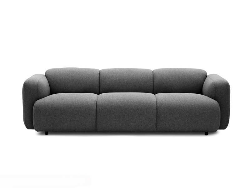 Buy The Normann Copenhagen Swell Three Seater Sofa At Nestcouk Certainly Throughout Three Seater Sofas (View 14 of 20)