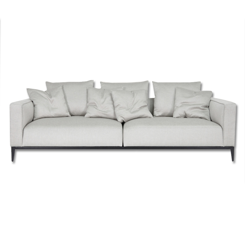 California Sofa In Grey Brick Fabric Buy Fabric Sofas Living Room Certainly In Brick Sofas (View 9 of 20)