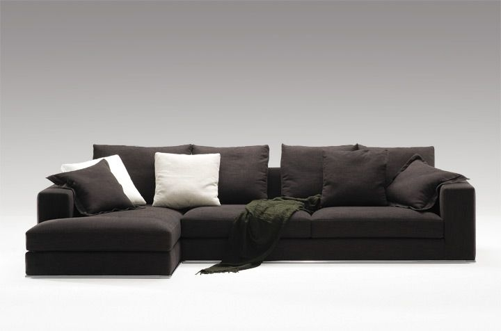 Camerich Lean Sectional The Lean Sectional Series Features An good throughout Angled Sofa Sectional (Image 4 of 20)
