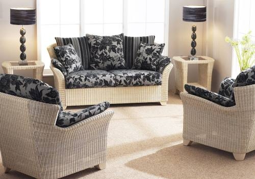 Cane Industries Arona Fabric Cane Sofas Chairs Cane Tables certainly throughout White Cane Sofas (Image 12 of 20)
