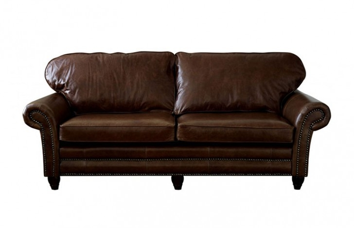 Canterbury Leather Sofa The Chesterfield Company well regarding Canterbury Leather Sofas (Image 7 of 20)