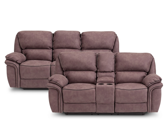 Carver Reclining Sofa Furniture Row properly with Recliner Sofa Chairs (Image 6 of 20)