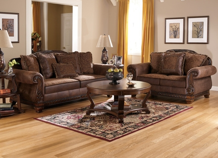 Categories Sofas Townhouse Tawny Sofa Loveseat And Chair Set perfectly for Sofa Loveseat And Chairs (Image 10 of 20)
