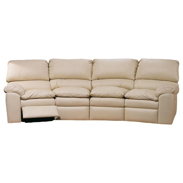Catera Reclining Four Seat Conversation Sofa Usa Made Definitely With Four Seater Sofas (View 17 of 20)