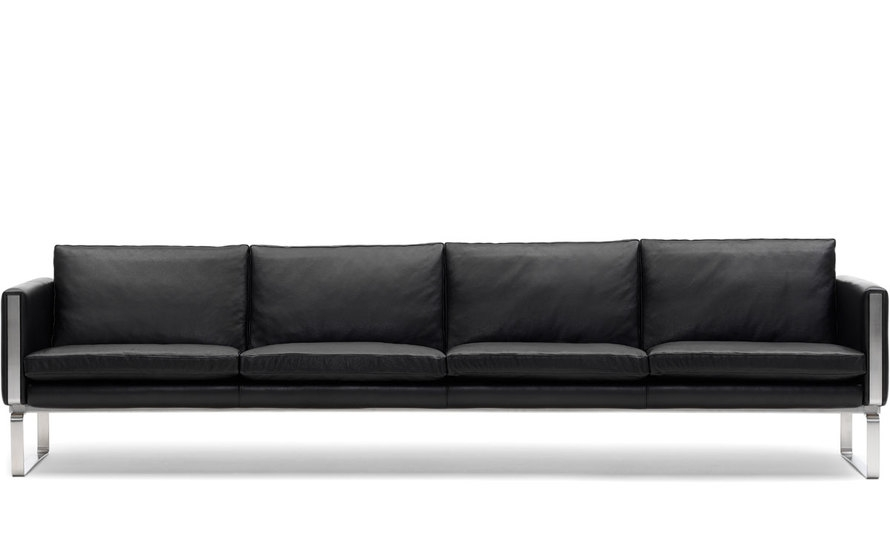 Ch104 4 Seat Sofa Hivemodern Very Well Intended For 4 Seater Couch (View 7 of 20)